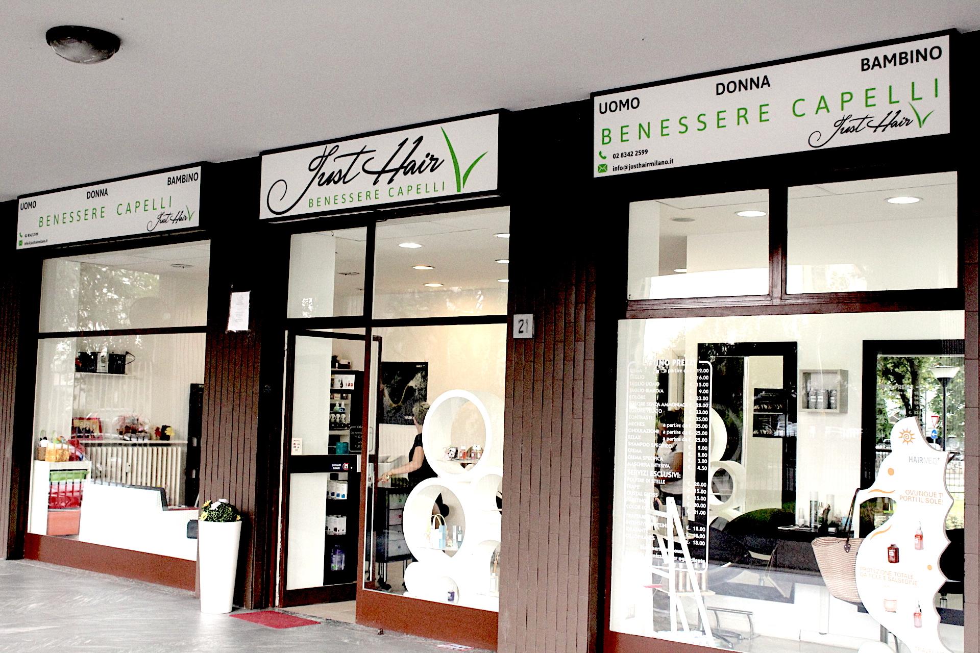 Alla scoperta del salone: benvenuti a Just Hair